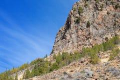halny Tenerife Zdjęcie Stock