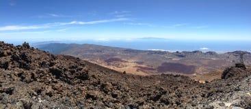 Halny Tenerife Obraz Royalty Free