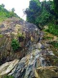 Halny tropikalny krajobraz Zdjęcie Royalty Free