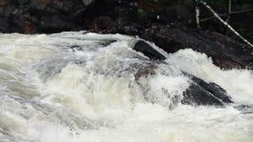 Halny woda rzeczna przepływ zbiory