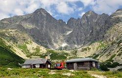 Halny Wysoki Tatras, Lomnicky Stit, Sistani, Europa Zdjęcia Royalty Free