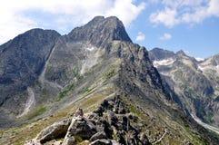 Halny Wysoki Tatras, Sistani, Europa Obraz Royalty Free