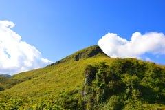 Halny wzgórze w Laos Obraz Royalty Free