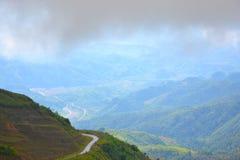 Halny wzgórze w Laos Obrazy Stock