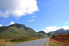 Halny wzgórze w Laos zdjęcie royalty free
