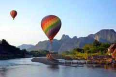 Halny wzgórze w Laos Fotografia Royalty Free