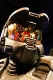 Halo's mistrza Chief's wosku postać zdjęcie royalty free