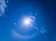 Halo around Sun Stock Photos