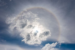 Halo Cloudscape Royalty Free Stock Photo