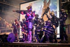 Halo Cosplay royalty-vrije stock fotografie
