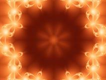 Halo de fractale Image libre de droits