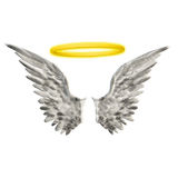 Halo de las alas Imagen de archivo