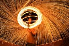 Halo de palhas de aço Foto de Stock Royalty Free