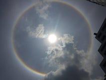 Halo de Sun Fotos de archivo