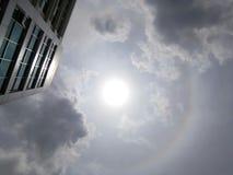 Halo de Sun, Ray Images stock