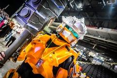 Halo Reach Cosplay royalty free stock photos