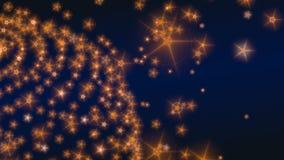 Halo stars. Abstract background with illuminated stars stock illustration
