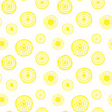 Halo suns seamless pattern background Royalty Free Stock Images