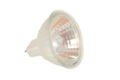 Halogen Bulb. Photo of white halogen bulb isolated Stock Images