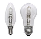 Halogen bulb. Isolated image Royalty Free Stock Image