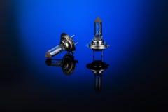 Halogen car headlight bulb H7 or H4 Royalty Free Stock Photos