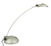 Halogen desk lamp Stock Image