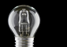 Halogen eco light bulb Stock Photos