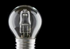 Halogen eco light bulb Stock Photos