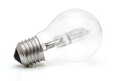 Halogen eco light bulb Royalty Free Stock Images