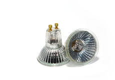 Halogen-Glühlampen Stockfoto