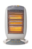 Halogen heater isolated on white Stock Photos