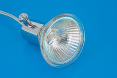 Halogen lamp Royalty Free Stock Photography