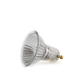 Halogen lamp isolated Royalty Free Stock Photo