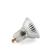 Halogen lamp isolated Royalty Free Stock Image