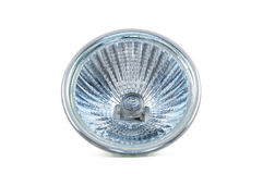 Halogen lamp on white background Stock Images