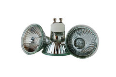 Halogen lamps Royalty Free Stock Photos