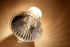 Halogen light bulb Stock Photography