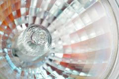 Halogen Light Bulb Close-Up Royalty Free Stock Photography
