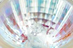 Halogen Light Bulb Closeup Stock Photo