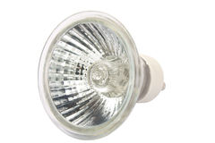 Halogen spot light bulb Stock Photos
