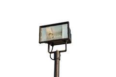 Halogen spotlights, isolated on white background Stock Photo