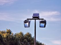 Halogen Street Light Stock Images