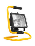 Halogen work lamp Stock Photo