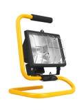 Halogen work lamp Stock Photo