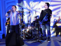 Halogenid Beslic-Konzert in Dubai Lizenzfreie Stockbilder