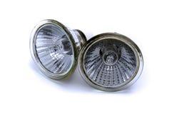 halogenlampreflektor Fotografering för Bildbyråer