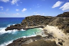 Halona Blow Hole Beach Royalty Free Stock Photos