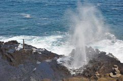 Halona Blowhole Royalty Free Stock Images