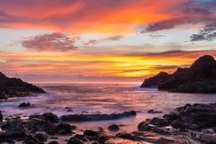Halona Cove Sunrise Royalty Free Stock Images