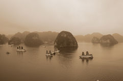 Halong海湾 库存图片